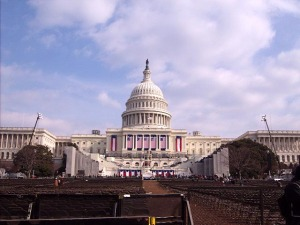 Capitol Building 20 minutes after ceremony.... anyone, anyone?